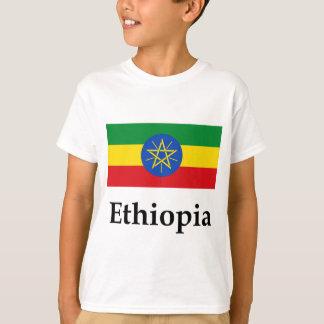 Ethiopia Flag And Name T-Shirt