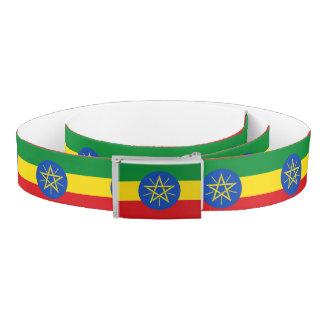 Ethiopia Flag Belt