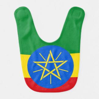 Ethiopia Flag Bib
