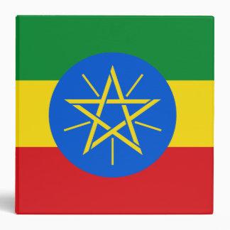 Ethiopia Flag Binder