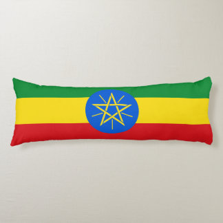 Ethiopia Flag Body Pillow