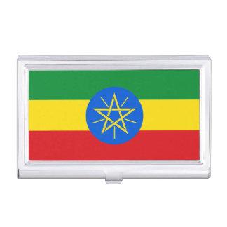 Ethiopia Flag Business Card Cases