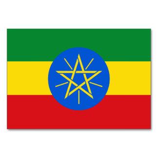 Ethiopia Flag Card