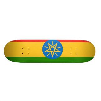 Ethiopia Flag Custom Skate Board