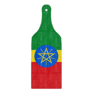 Ethiopia Flag Cutting Board