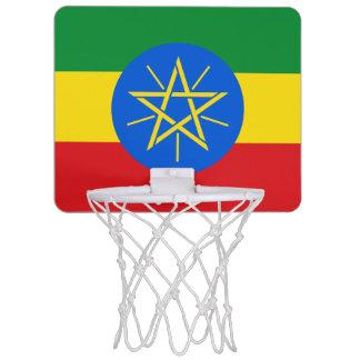 Ethiopia Flag Mini Basketball Hoop