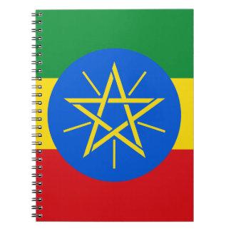 Ethiopia Flag Notebook