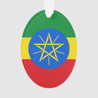Ethiopia Flag Ornament
