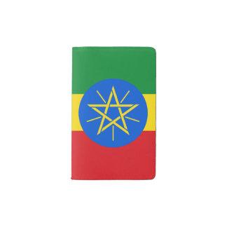 Ethiopia Flag Pocket Moleskine Notebook