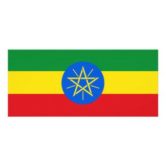 Ethiopia Flag Rack Card