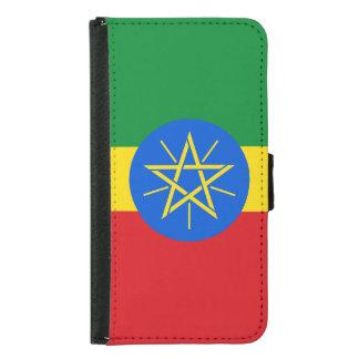 Ethiopia Flag Samsung Galaxy S5 Wallet Case