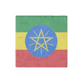 Ethiopia Flag Stone Magnets