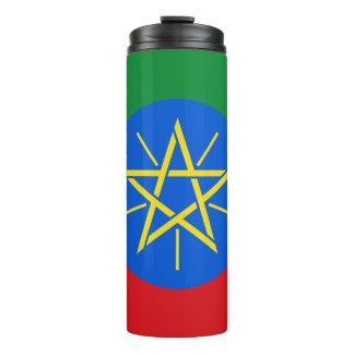 Ethiopia Flag Thermal Tumbler