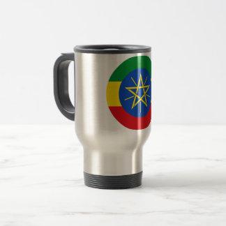 Ethiopia Flag Travel Mug