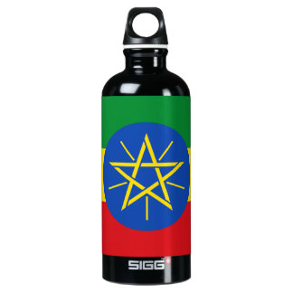 Ethiopia Flag Water Bottle
