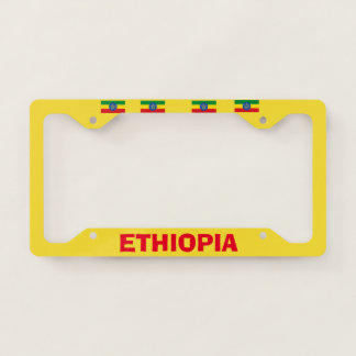 Ethiopia License Plate Frame