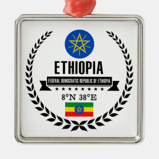 Ethiopia Metal Ornament