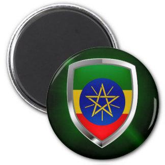 Ethiopia Mettalic Emblem Magnet