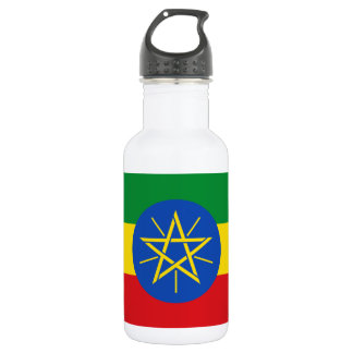 Ethiopia National World Flag 532 Ml Water Bottle