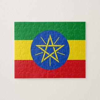 Ethiopia National World Flag Jigsaw Puzzle