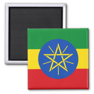 Ethiopia National World Flag Magnet