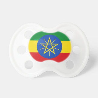 Ethiopia National World Flag Pacifier