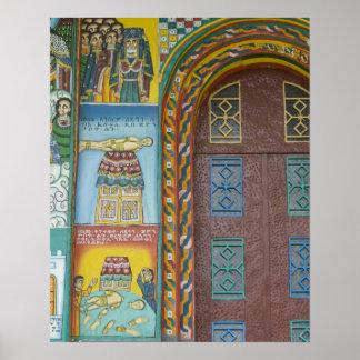 Ethiopia:  Tigray Region, Axum, Christ Church, Poster