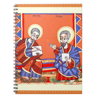Ethiopian-Bible-Saint-Luke-Saint-John Spiral Notebook