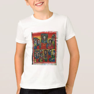 Ethiopian Church Painting - T-Shirt For Children