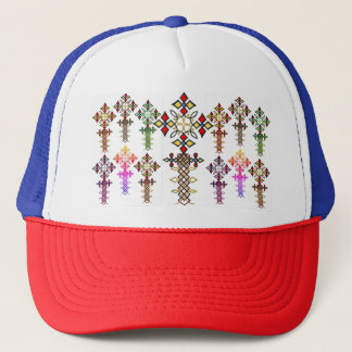 Ethiopian Cross Trucker Hat
