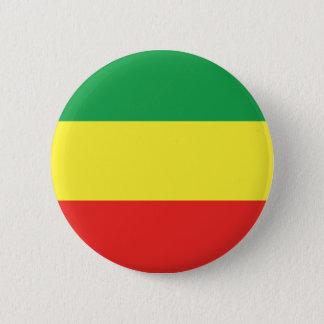 ethiopian flag 2 inch round button
