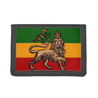Ethiopian Flag:Lion of Judah Trifold Wallet