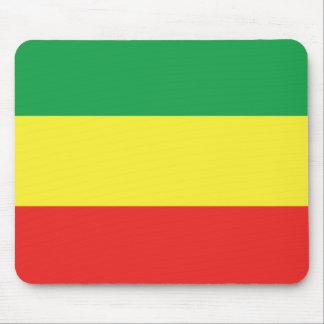 ethiopian flag mouse pad