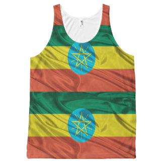 Ethiopian flag tank