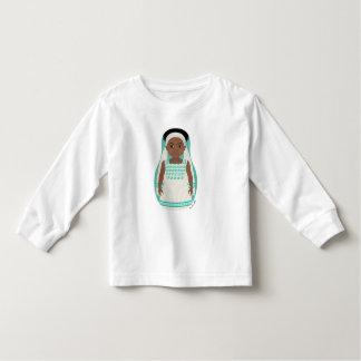 Ethiopian Girl Matryoshka Toddler Long Sleeve Toddler T-shirt