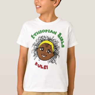 Ethiopian Girls Rule! T-Shirt