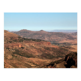 Ethiopian Mountains Postcard