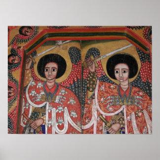 Ethiopian Orthodox Church Icon Poster