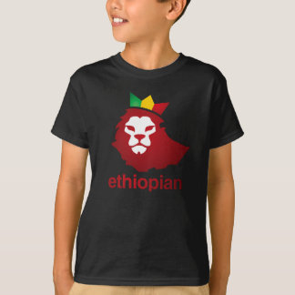 Ethiopian Power - Kids' Basic Hanes Tagless T-Shirt