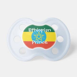 Ethiopian Prince pacifier