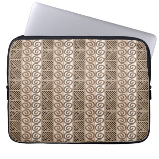 ethnic african hand-drawn pattern computer sleeve