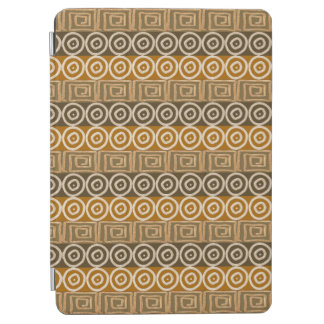 Ethnic african hand-drawn  pattern. iPad air cover