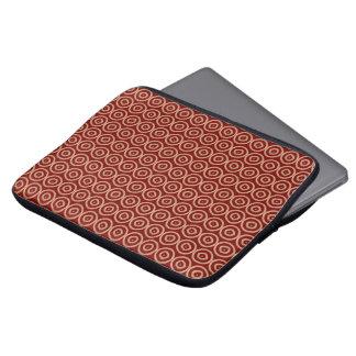 ethnic african hand-drawn pattern laptop sleeve