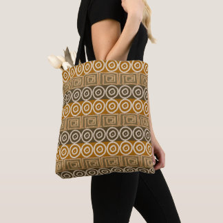 Ethnic african hand-drawn  pattern. tote bag