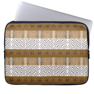 ethnic african seamless pattern laptop computer sleeve