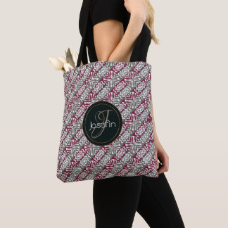 ethnic african seamless pattern.monogram. tote bag