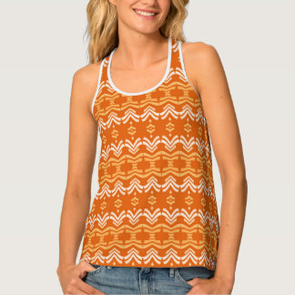 ethnic african seamless pattern tank top