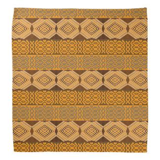 ethnic african striped tribal pattern. bandanas