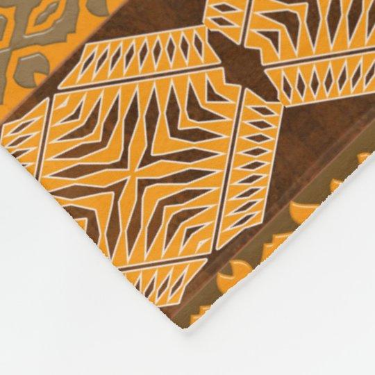 ethnic african striped tribal pattern. fleece blanket