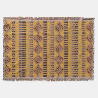 ethnic african tribal geometric pattern throw blanket